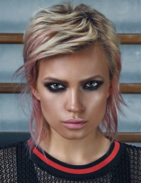 pixie mullet 48 best pixie mullet images on pinterest hair cut shirt