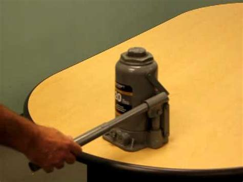 How To Bleed A Hydraulic Floor by Leaky Hydraulic Bottle Repair Funnycat Tv