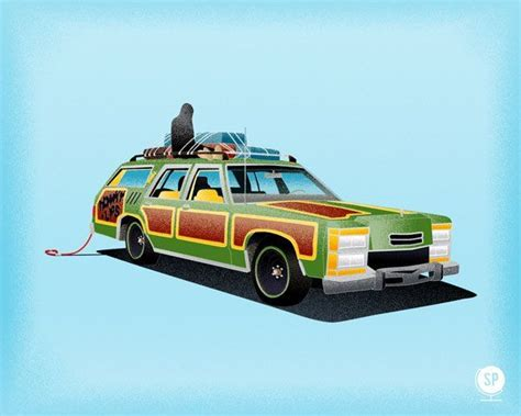 family truckster prints pics nerd stuff national lampoons vacation vacation