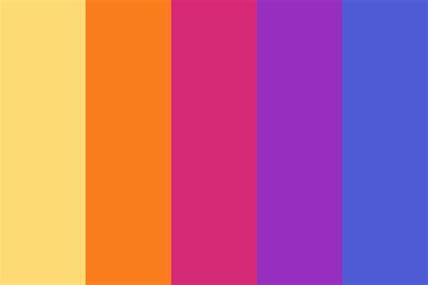 instagram color instagram gradient color palette