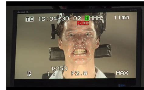 desolation of smaug benedict cumberbatch behind the scene see how benedict cumberbatch becomes smaug in these behind