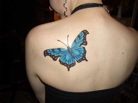 butterfly tattoo on girl s shoulder looking hot with shoulder tattoo designs yusrablog com