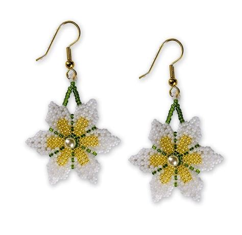 beaded flower earring patterns 23 best images about handmade beaded items for sale on