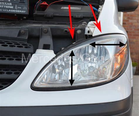 headlights mercedes mercedes vito w639 headl adjustment mercedes in