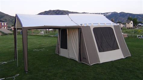 tent cabin 6133 kodiak canvas cabin tent demo
