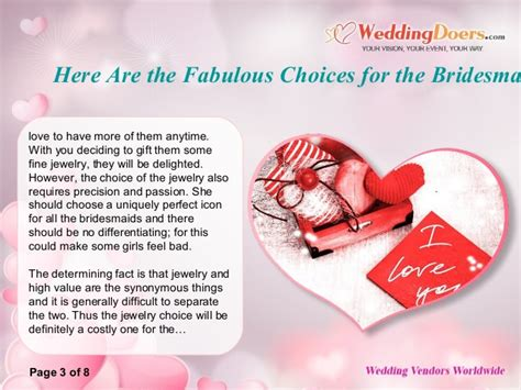 Heres To A Fabulous by Here Are The Fabulous Choices For The Bridesmaid Thank You