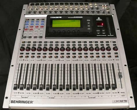 Mixer Digital Behringer Ddx3216 photo behringer ddx3216 behringer digital mixer series
