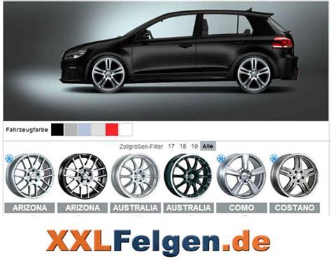 Auto Konfigurator 3d by Felgen Anprobe Felgen De Der Felgen Shop