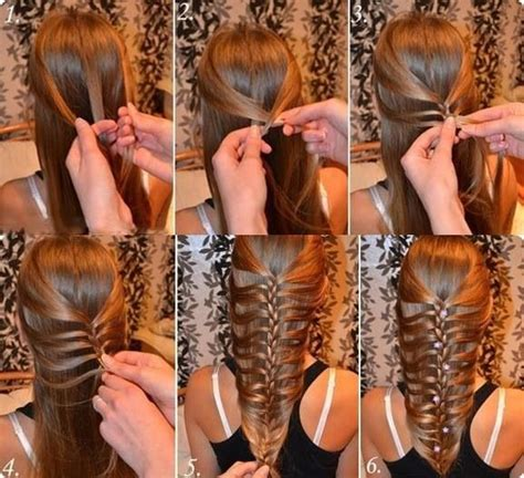 mermaid hairstyle tutorial step by step mermaid fish tails step by step beauty pinterest