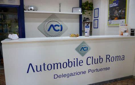 aci sedi roma aci automobile club roma delegazione portuense