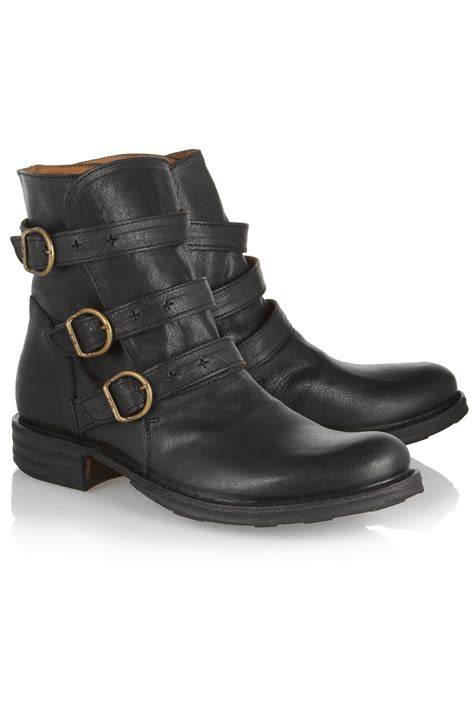 bakers boots lyst fiorentini baker edwin eternity buckled leather