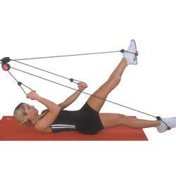 pilates door knob rope exerciser findgift