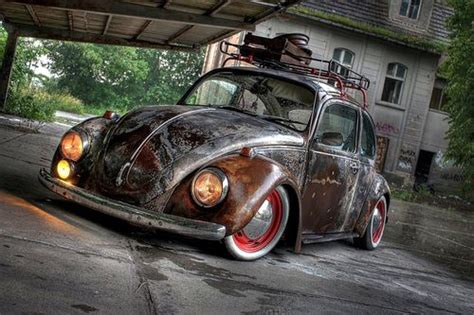 vw bug rust patina air cooled dubs pinterest beetles  cars