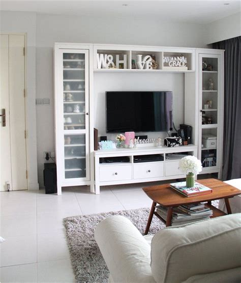 hemnes tv storage combination ikea living room storage