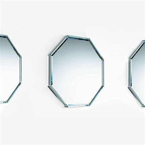mirror shapes mirror shapes mirror shapes glas italia prism octagonal