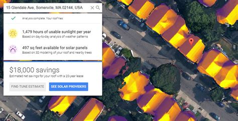 project sunroof ugraditi solarne panele ili ne vam može uraditi