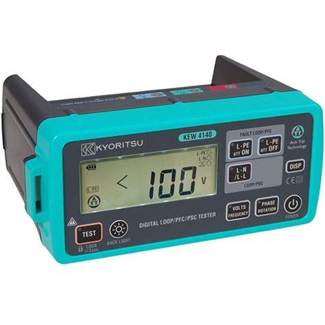 Kyoritsu 4118a Loop Pfc Psc Tester meter digital