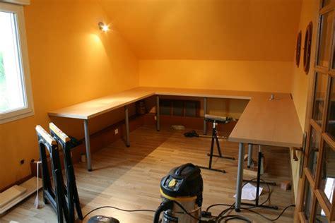 cuisine sur un pan de mur pose d un plan de travail cuisine sur un pan de mur