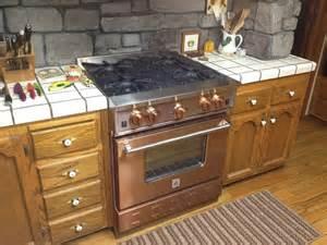 Copper Kitchen Appliances Bluestar Copper 30 Gas Range Available At Www Idlers Net
