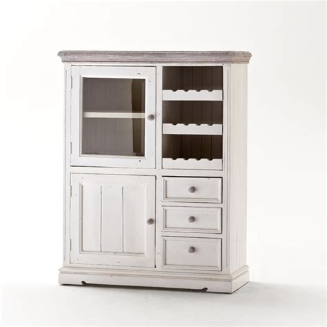 white wood wine cabinet opal display wine cabinet with wine rack and shelf 25383 fur