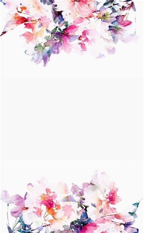 Best Resume Paper White Or Ivory by Floral Watercolor Iphone Wallpaper Iphone Wallpapers