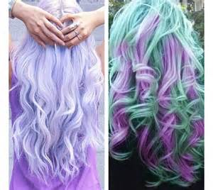 multi color hair dye multi colored hair the lavender and teal hair