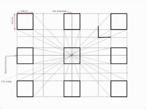 tutorial menggambar perspektif 1 titik lenyap full download cara menggambar perspektif 1 titik hilang