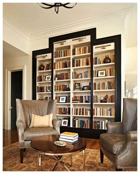 luxury built in bookshelves for the home