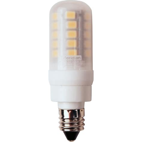 25 Watt Led Light Bulb Meridian 25 Watt Equivalent Bright White T5 E11 Base Led Light Bulb 13127 The Home Depot