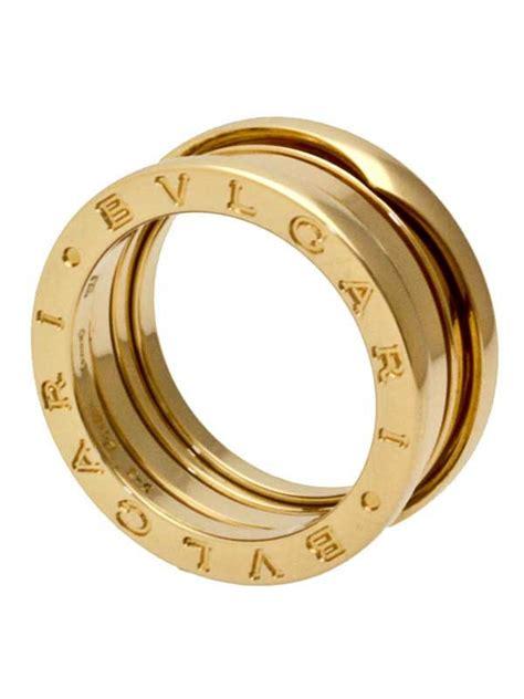 Bvlgari X Turbillon Automatic Leather Black Ring Silver bulgari b zero1 rotgold ring