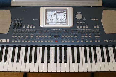 Keyboard Korg Pa 500 korg pa500 image 586752 audiofanzine