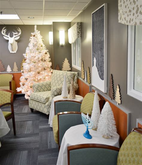 decorate a hospital room our holiday makeover at the children s hospital young