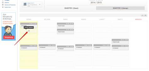 jadwal tutorial ut 2015 tutorial lengkap cara membuat jadwal kelas mingguan yang benar