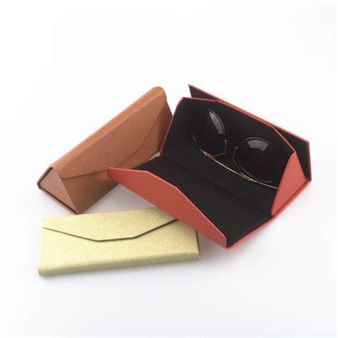 pu leather eyewear sunglasses box bag lunette de