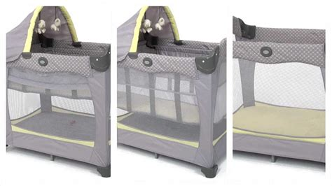 Graco Travel Lite Crib With Stages Keaton by Graco Travel Lite Crib With Stages