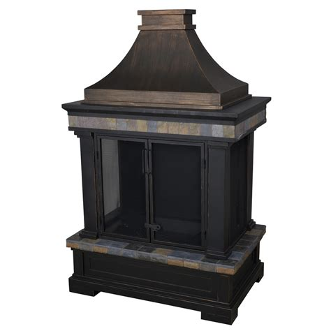 lowes outdoor fireplace kits
