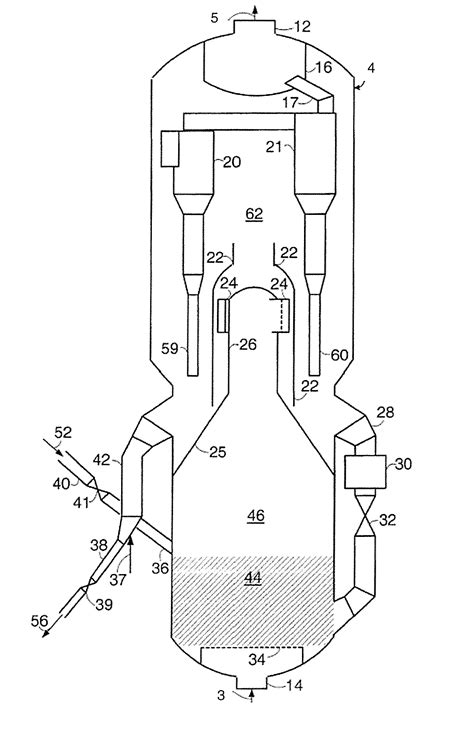 fluidized bed reactor patent us8282886 fluidized bed reactor with back mixing