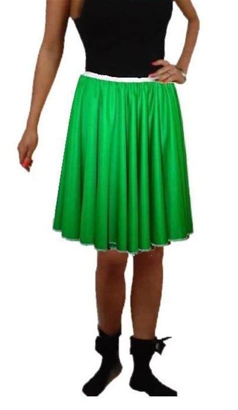 Rok Set Bandana rock n roll skirt scarf set 1950s 1960s emerald green