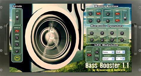 computer speaker bass booster full version software free download kvr bassbooster by softrave exciter enhancer vst plugin