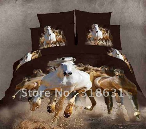 animal bedding sets shop popular horse quilt patterns from china aliexpress
