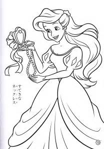 free printable disney princess coloring pages kids