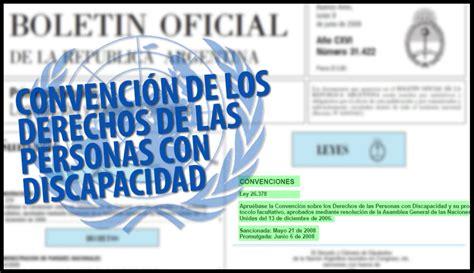ley de discapacidad 2016 ley de discapacidad en argentina 2016