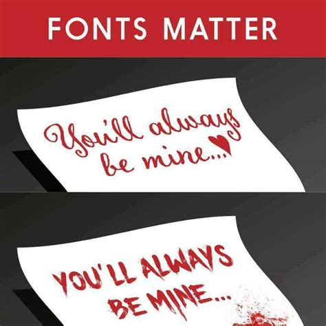 font meme remember all fonts matter dramatic humor lol