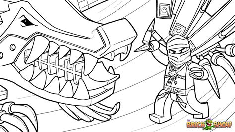 Lego Ninjago Nindroids Coloring Pages | free coloring pages of ninjago nindroids