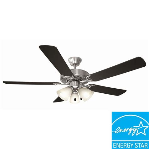 energy star ceiling fans hton bay devereaux ii 52 in indoor weathered brass