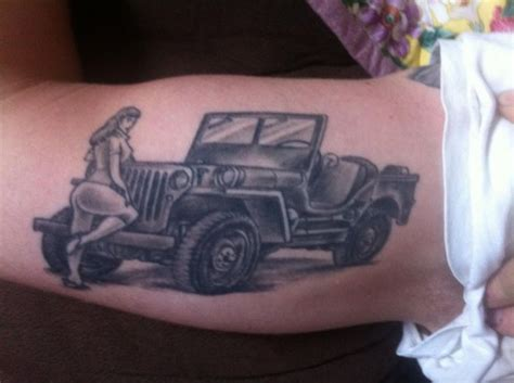 jeep tattoo pictures 60 best images about jeep tattoos on pinterest jeep