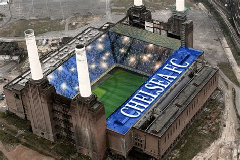 Power Bank Chelsea iamchelseacfc battersea power station could be turned