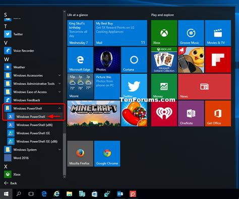 windows 10 powershell tutorial windows powershell open in windows 10 windows 10 tutorials