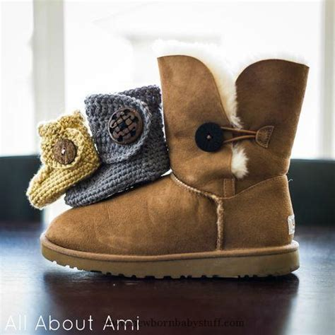 free button boats pattern crochet baby booties crochet baby button boots free