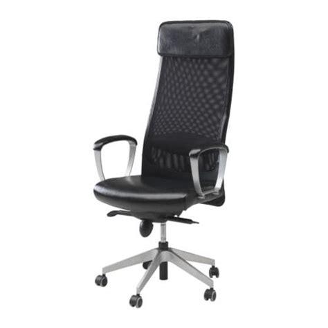 swivel computer chair ikea markus swivel chair glose black ikea